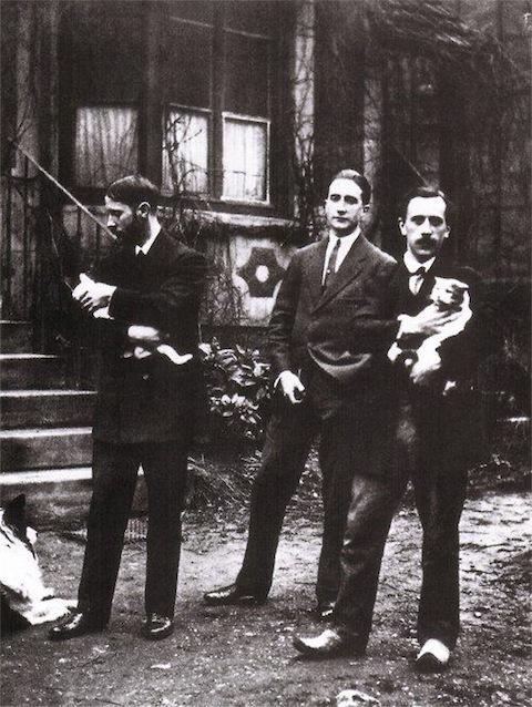 Jacques Villon, Marcel Duchamp, and Raymond Duchamp-Villon