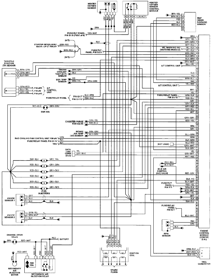 electronic circuit diagram