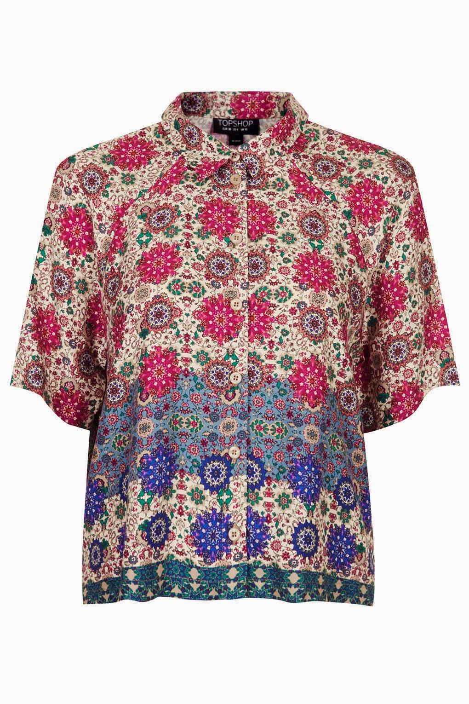 topshop folk shirt