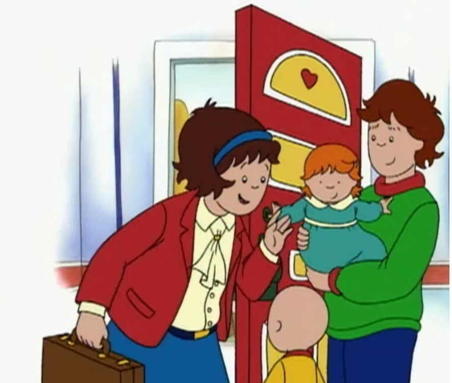 Rosie And Caillou