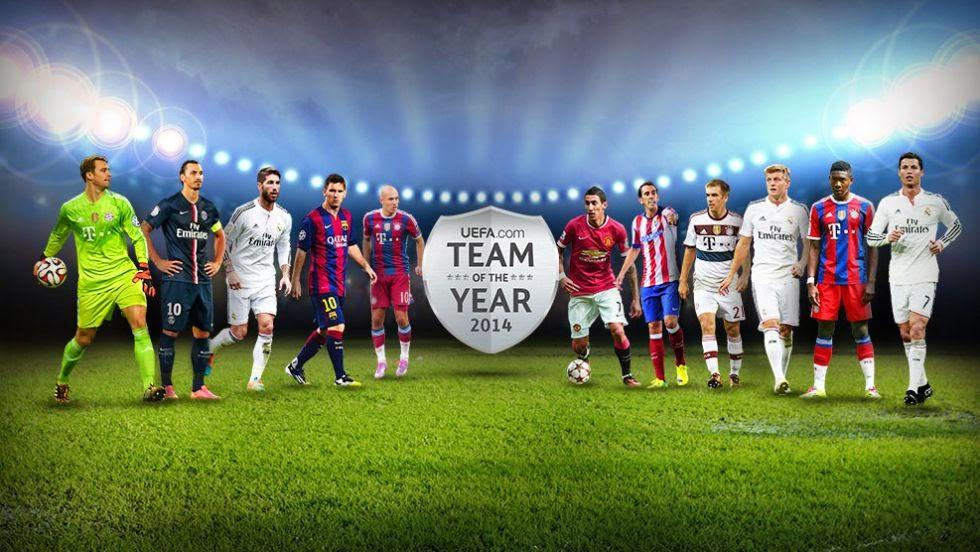 UEFA 2014 team
