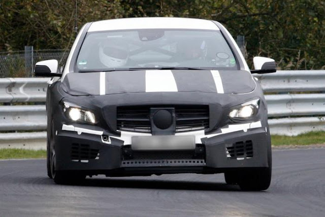 2013 2013 MERCEDES-BENZ A45 AMG PROTOTYPE  Spied Testing SPY PHOTOS OF THE 2013 MERCEDES-BENZ A45 AMG PROTOTYPE SPIED TESTING NEAR THE NURBURGRING