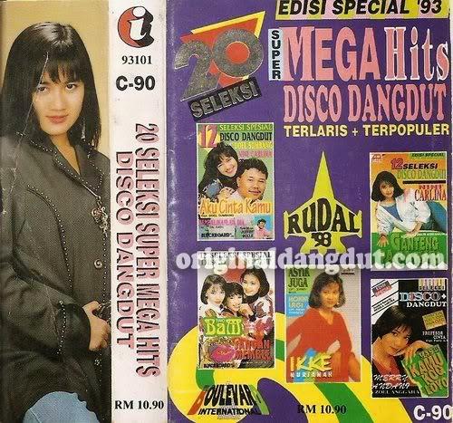 Seleksi Mega Hits Disco Dangdut Rudal 93