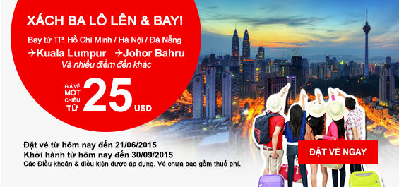 ve may bay khuyen mai chi 25 usd cua airasia