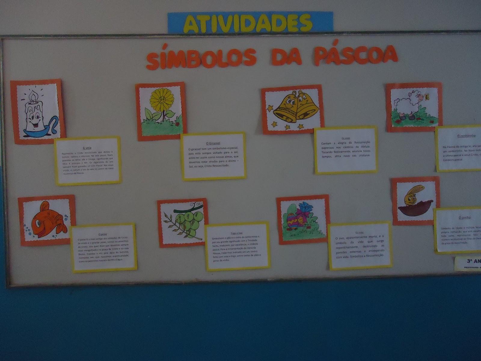 Centro educacional gera o 2000 murais da p scoa todas for Mural de natal 4 ano