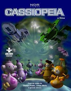Capa da animação brasileira Cassiopéia