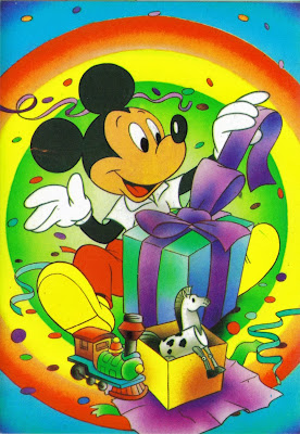 Mickey Mouse Postcard