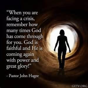 God always comes through