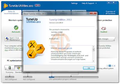 TuneUp Utilities 2013 13.0.200.4 Full Version
