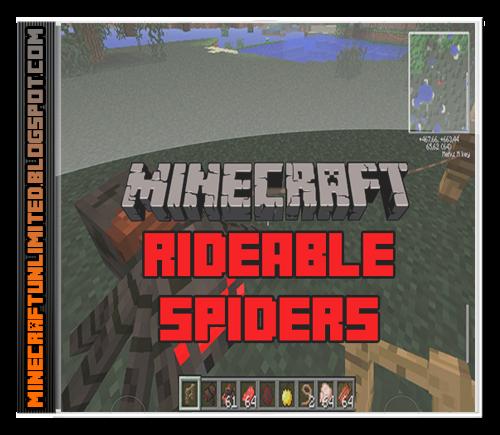 Rideable Spiders Mod carátula