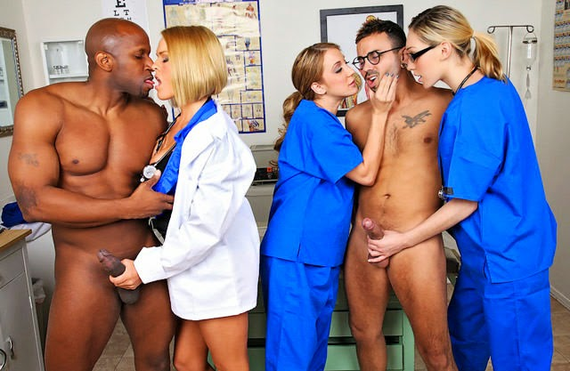 Hot Doctor And Nurses In Sex - Photo