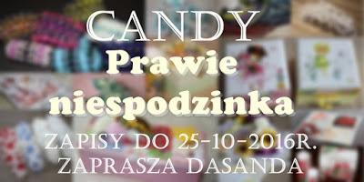 """candy w """" Hobbistyczny świat rękodzieła Dasanda"""""""