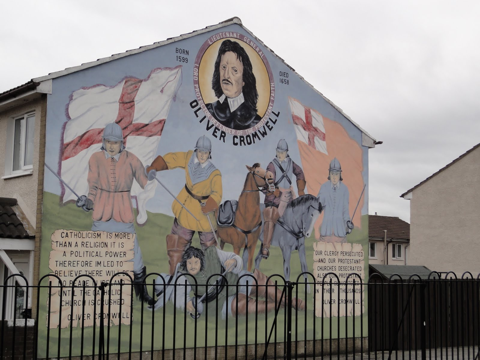 travelinoma murals of belfast northern ireland