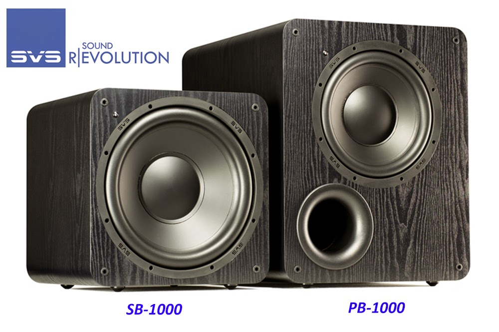 SVS PB-1000 & SB-1000