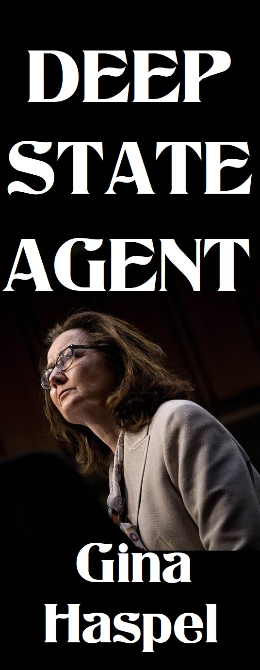 Gina Haspel Has Became The Director Of The CIA Faction Of The Deep State!