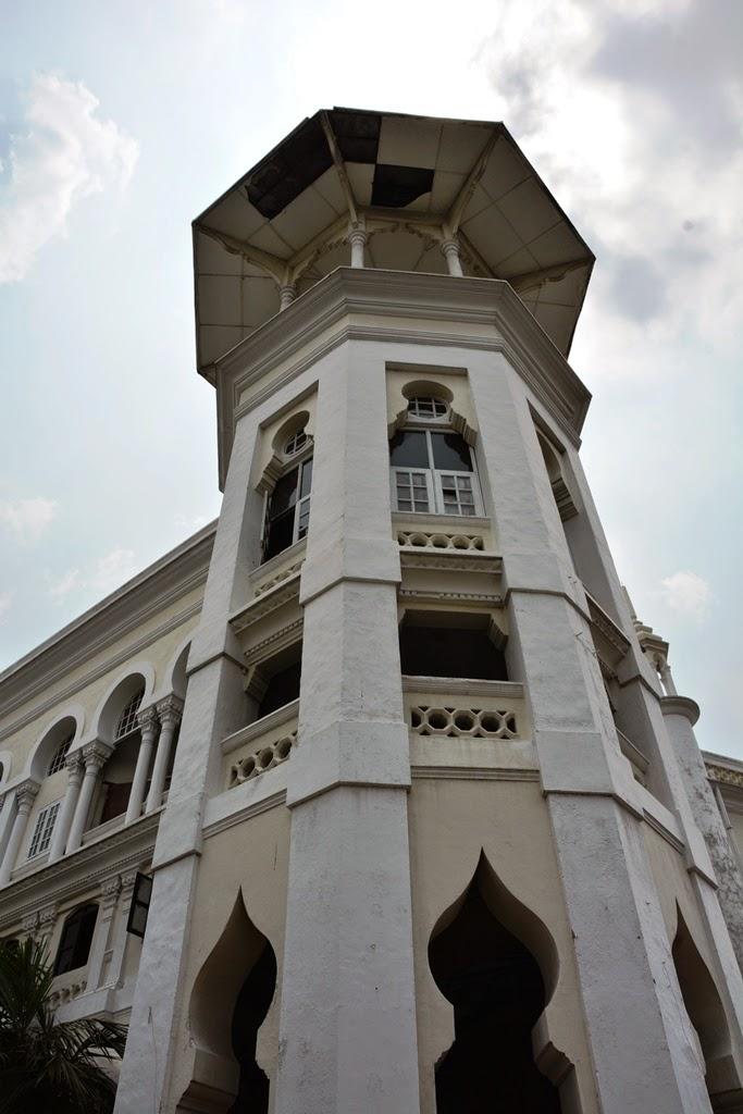 Railway Station Kuala Lumpur tower