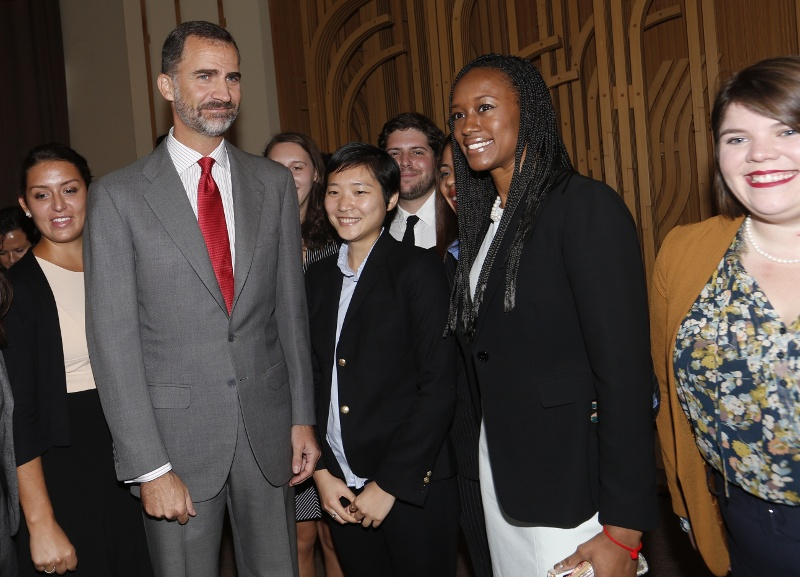King Felipe of Spain speaks – Institute of International Education