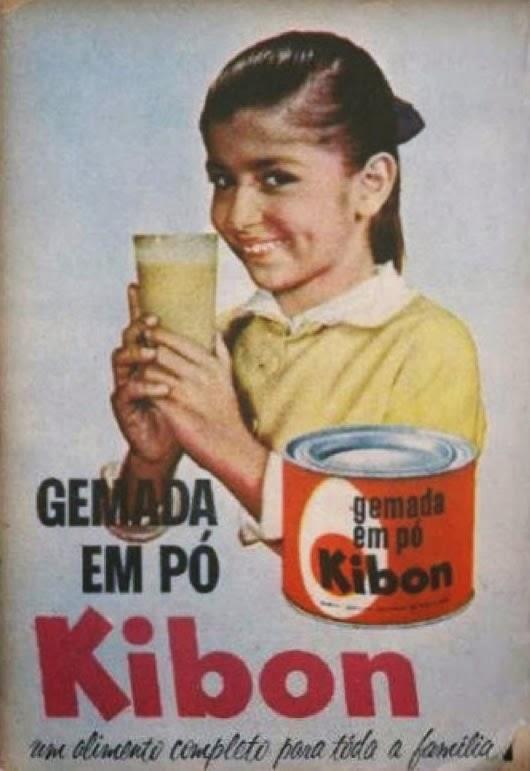 Propaganda de 1960 da Gemada em Pó da Kibon.