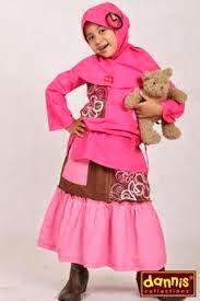 model baju pesta muslim anak perempuan