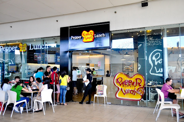 mall of asia branch of pepper lunch