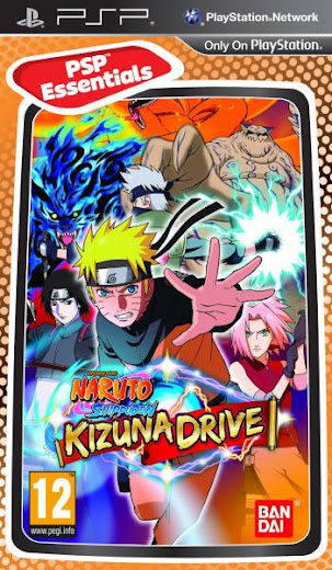 Download Naruto Shippuden : Kizuna Drive PSP/PPSSPP ISO High Compress