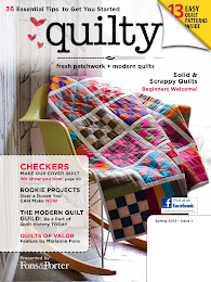 I have a quilt in this magazine!