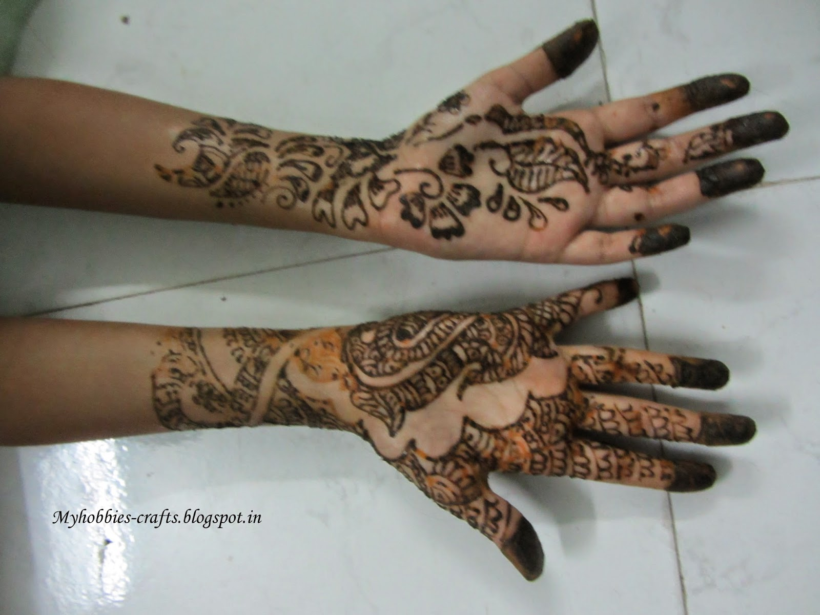 Mehndi For Children : My hobbies and crafts simple mehndi designs for kids