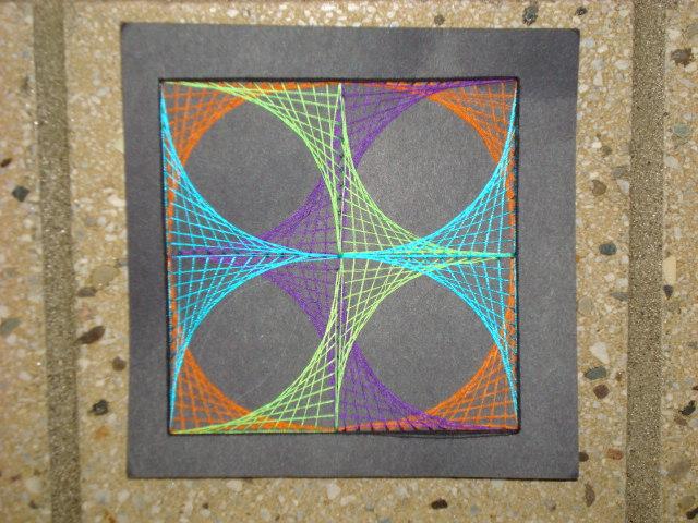 Adventures of a middle school art teacher 7th grade string art