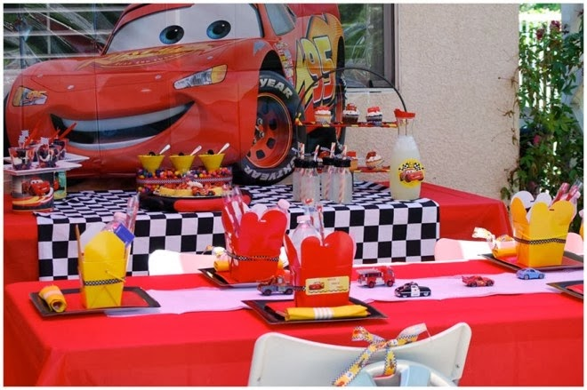 Cars 2 Decoración de Fiestas Infantiles - Party Ideas : Fiestas ...