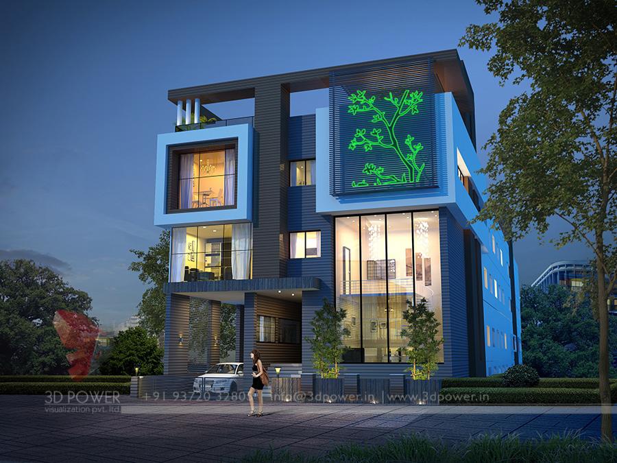 Delightful 3D Architectural Bungalow Exterior | 3D Rendering Bungalow Exterior | 3D  Bungalow Visualization Exterior Paris | France | Europe