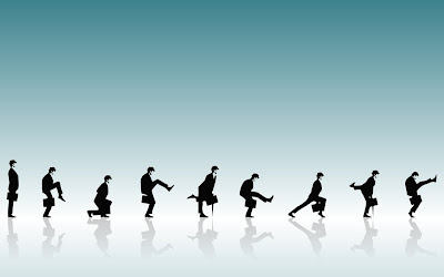 Professional Man Silly Walks Play 3D HD Widescreen Wallpapers