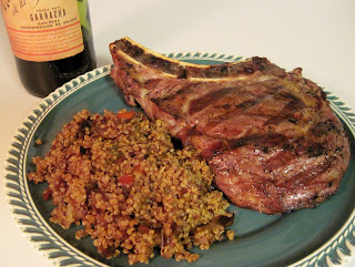 quinoa and steak