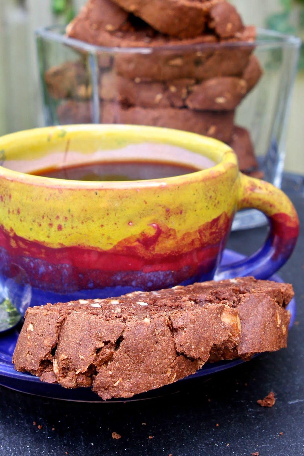 ... : Double Chocolate, Coconut & Macadamia Biscotti (gluten free