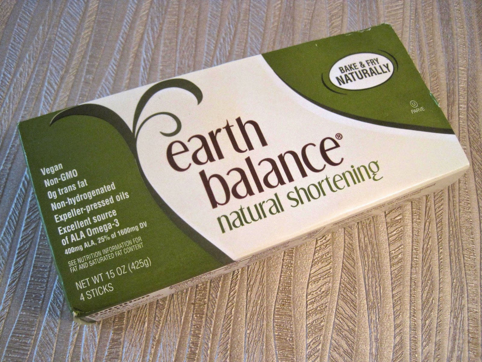 Earth Balance Natural Shortening Vegan - Veega