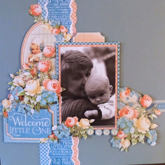 Precious Memories Layout Clare Charvill Graphic 45