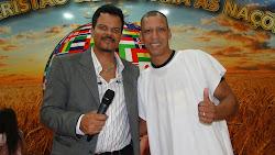 Junto ao Pastor Walter no Aniversário de sua igreja
