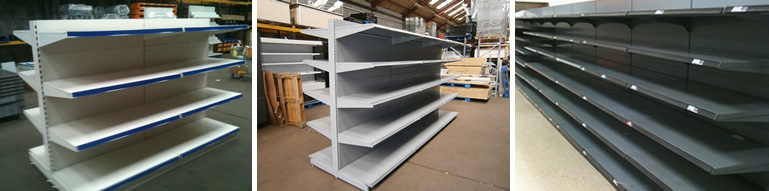 used shop shelving