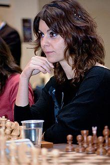 La double championne de France d'échecs 2013-2014 Nino Maisuradze © Chess & Strategy