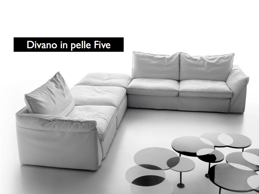 Divani blog tino mariani prova la morbidezza del divano in pelle five - Cuscini seduta divano ...