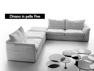 Divani blog tino mariani prova la morbidezza del divano in pelle five - Divano seduta profonda ...