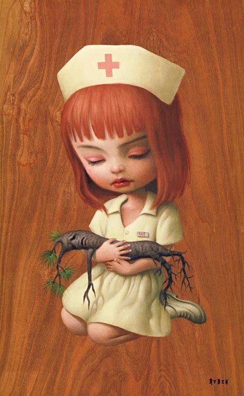 Sygeplejerske - Nurse Sue by Mark Ryden