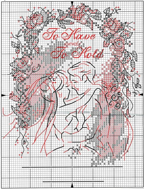Свадебная метрика скачать схемы вышивок