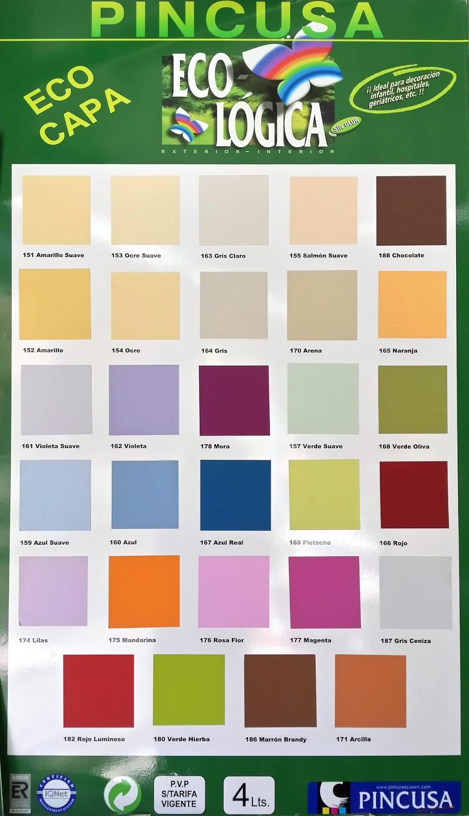Decoraci n y pinturas la pubilla cartas de color - Catalogo pinturas bruguer ...