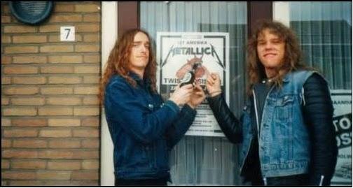 metallica - primo concerto europeo