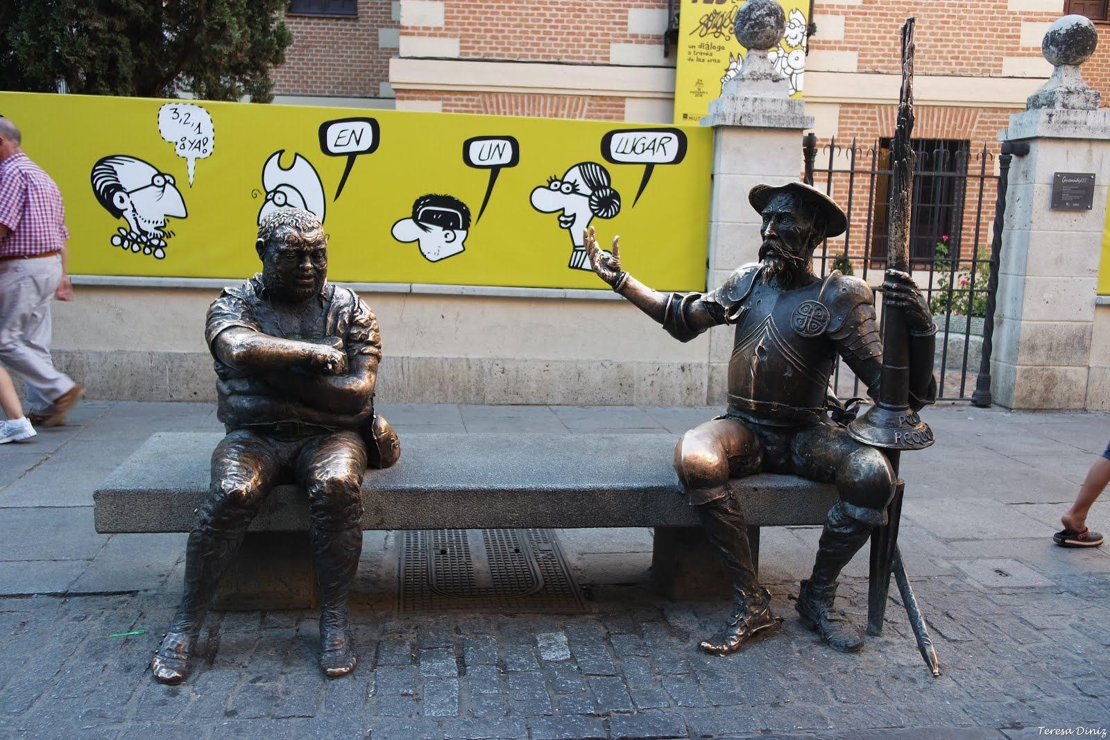Cervantes e cegonhas