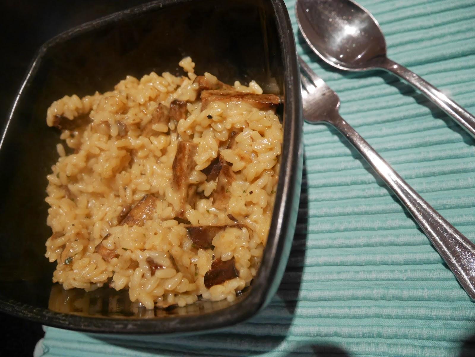 Quorn risotto
