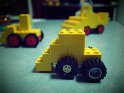 レゴ ブルドーザー 小