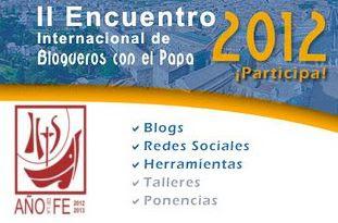 II Encuentro de Blogueros con el Papa