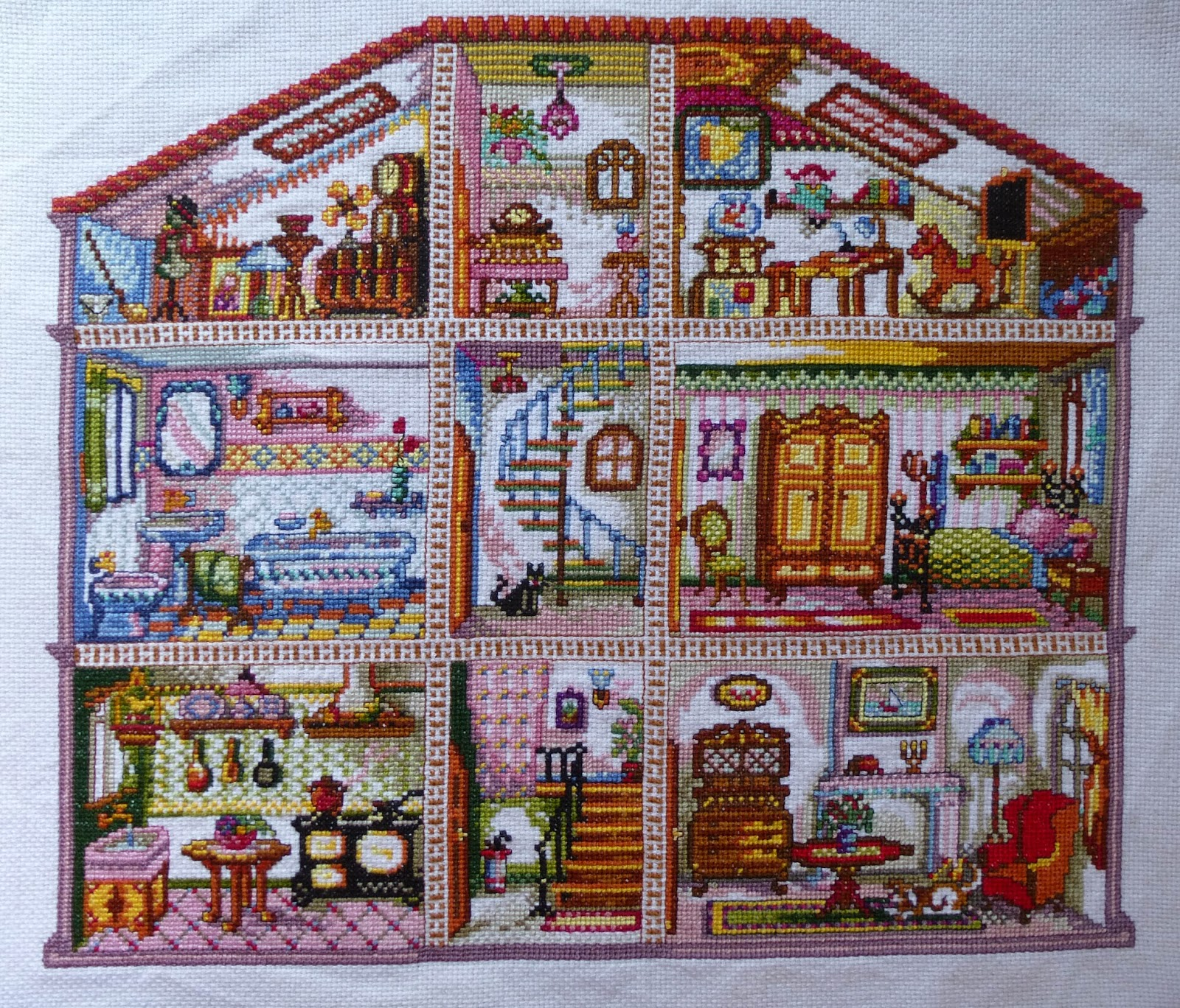 Patrones Casas Patchwork. Affordable Quilt Dresden Plate With ...