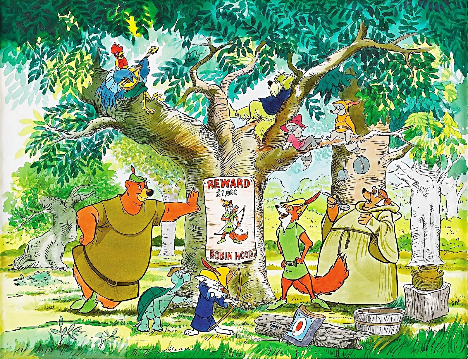 Laura S Miscellaneous Musings Tonight S Movie Robin Hood 1973